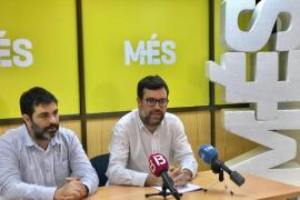 MÉS dice que el socialista Alcover «miente» al afirmar que no sabe «de quién salió la idea de la comisión de expertos»