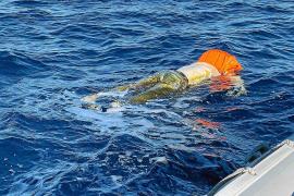 Dos policías que pescaban hallan un cadáver a 10 millas de la bahía de Palma