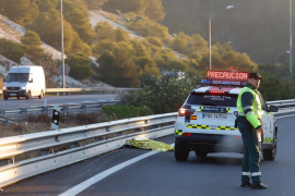 Un hombre de 31 años muere atropellado mientras caminaba por una autopista de Palma