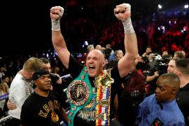 Tyson Fury, campeón mundial de los pesos pesados del Consejo