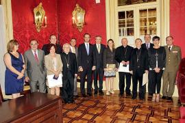 Medalla d'Honor del Parlament a la labor de Cáritas