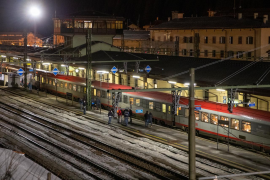 Austria cierra el tráfico en tren con Italia por las sospechas de coronavirus