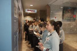 Alumnes de 1er de la ESO del Col·legi Sant Vicenç de Paül de Cas Capiscol varen visitar Grup Serra