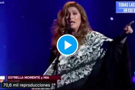 Estrella Morente 'enciende' a la audiencia de OT con un alegato taurino