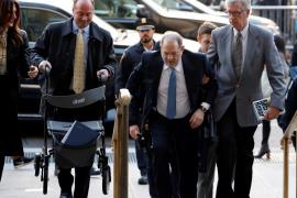 Weinstein, al hospital por palpitaciones cardíacas tras conocer el veredicto de culpabilidad