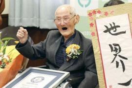 Muere el varón más anciano del mundo 11 días después de recibir el Guinness