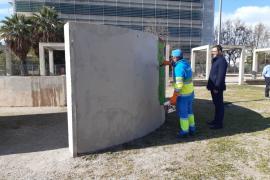 Cort destina 61.000 euros a eliminar 2.600 pintadas vandálicas en Palma