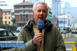 Lorenzo Milá, su visión del coronavirus desde Italia: «No es un virus terrorífico como puede ser el ébola»