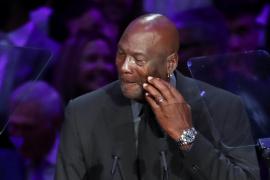 Las lágrimas de Jordan en el adiós a Kobe Bryant: «Quise ser el mejor hermano mayor»