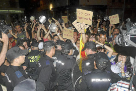 Participantes de la protesta de Manacor declaran ante la policía
