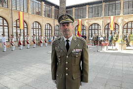 El coronel Jaime Galera asume la dirección del Centro de Historia y Cultura Militar de Baleares