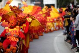 El Carnaval de Santa Eulària, en imágenes (Fotos: Daniel Espinosa).