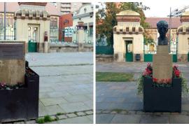 Derriban el busto de Lluís Companys en un acto vandálico
