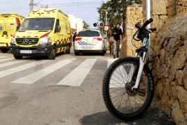 La adolescente golpeada por el tren está grave en la UCI de Son Espases