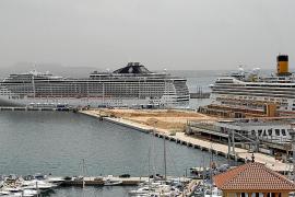 Los cruceros deberán confirmar su escala para entrar en el puerto de Palma