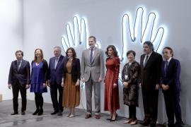 Los Reyes inauguran oficialmente la feria de ARCO, marcada por el coronavirus