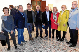 Salva Ginard presenta su obra en Can Prunera