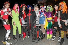 Fantasía y color en la Rua de Palma