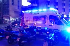 Una mujer muere tras caer a un patio interior en Palma