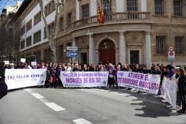 El Movimiento Feminista de Mallorca pide «revisar la ley contra la violencia de género»