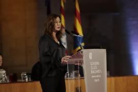 Francina Armengol pide que el Estado atienda las necesidades de Baleares
