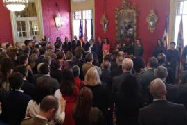 Thomàs, en el Dia de Balears: «Los políticos estamos para aportar soluciones, no problemas»