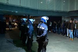 Diez detenidos y más de 150 identificados en una macrorredada en locales de ocio en Palma