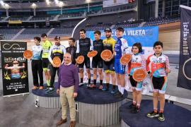 Amengual manda en el Trofeo La Vileta de ciclismo en pista