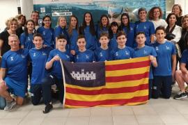 Tercera posición para la cantera de la natación isleña en Oviedo