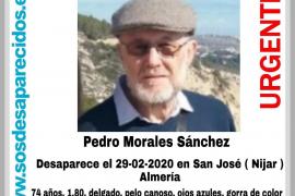 Buscan a un hombre de 74 años desaparecido este sábado