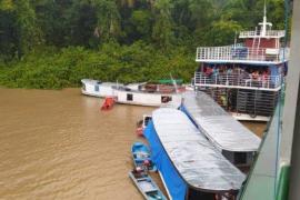 Seis muertos y 16 desaparecidos en el naufragio de una embarcación en Brasil