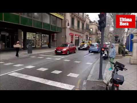 Tibia protesta en Palma por los cambios en las líneas de la EMT