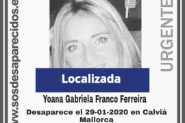 Localizada la mujer desaparecida en Calvià