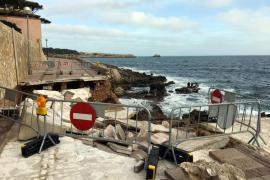 Las obras de reparación de las playas afectadas por la borrasca 'Gloria' empiezan el próximo lunes
