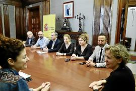 Frente común de los alcaldes afectados por 'Gloria' ante la falta de soluciones de Madrid