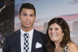 La madre de Ronaldo sufre un accidente cerebrovascular