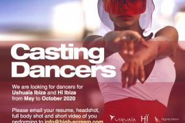 Ushuaïa y Hï Ibiza buscan bailarines para este verano