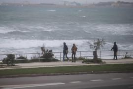 Mallorca vuelve a estar en alerta por viento