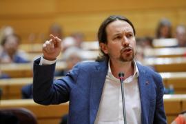 Iglesias llama al PP «delincuentes» tras enzarzarse en el Senado por las cloacas