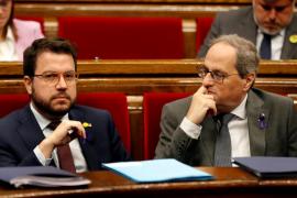 Sesión de control al Govern en el Parlament