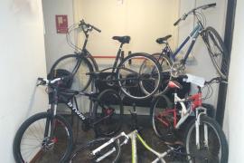 Bicicletas intervenidas por la Policía Nacional