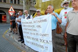 El grupo Santo Sudario pide que se vuelva a colocar la Cruz de los Caídos en Sóller