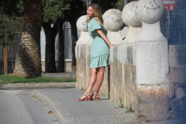 La modelo Ann-Kathrin Götze elige Palma para un 'photo shooting'