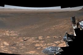 Curiosity muestra una panorámica de Marte con 1800 millones de píxeles