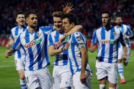 La Real sociedad se impone al Mirandés y llega a la final de Copa, 32 años después