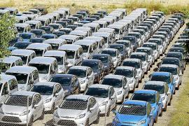 La actividad de las empresas de rent a car ha bajado un 40% de enero a mayo en las Islas