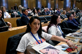 La familia de Malén Ortiz y de Said Hourmati acuden al Congreso de Personas Desaparecidas