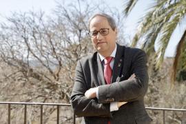 Torra reafirma en Palma el «compromiso» de la Generalitat con la OCB