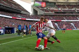 El Sevilla sostiene su renta en el Wanda