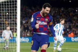 El Barça rescata el liderato con un penalti de VAR